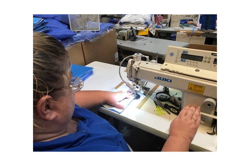 Sewing Masks for Clay County Healthcare Workers