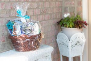 Picture of a gift basket