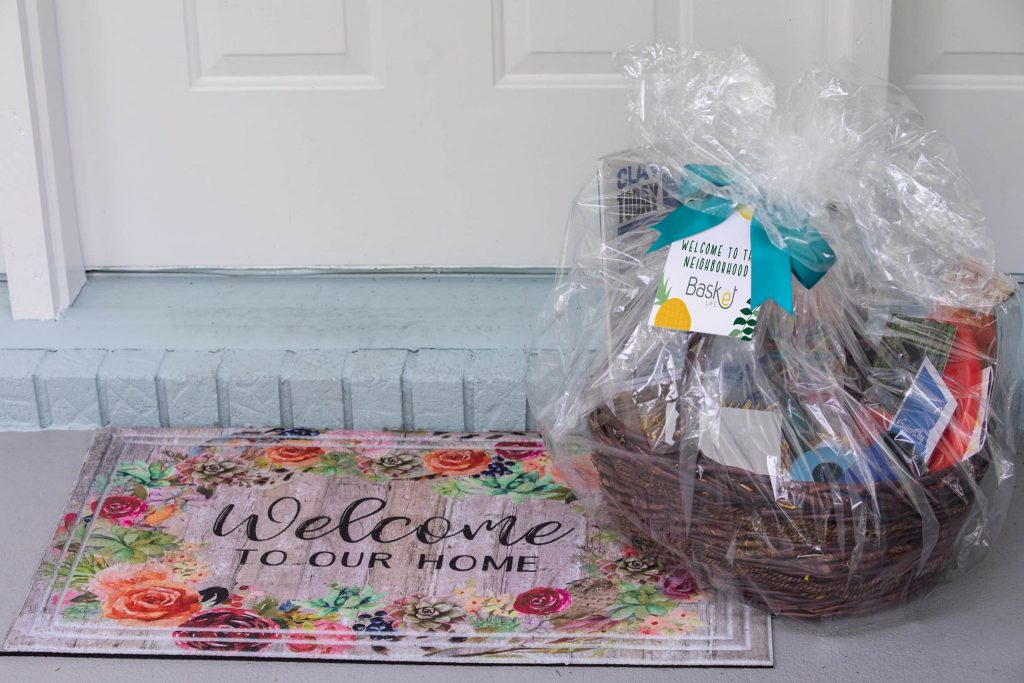 Basket Life Delivery to a Home