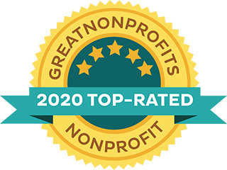 2020 Top-Rated by Great Nonprofits Logo