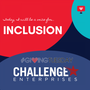 Giving Tuesday Stand for Inclusion Graphic Logo