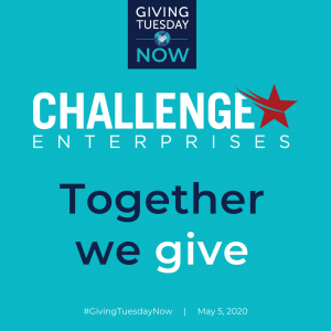 Challenge Enterprises Giving Tuesday Flyer
