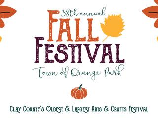 Town of Orange Park Fall Festival Flyer