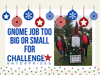 Challenge Enterprises Christmas Flyer